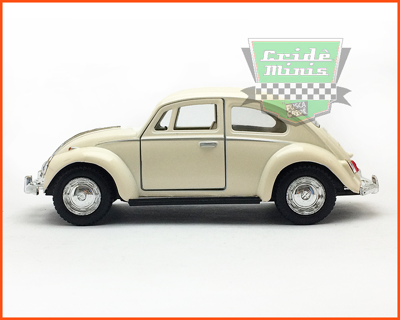 Fusca Sedan 1967 - Creme - escala 1/32