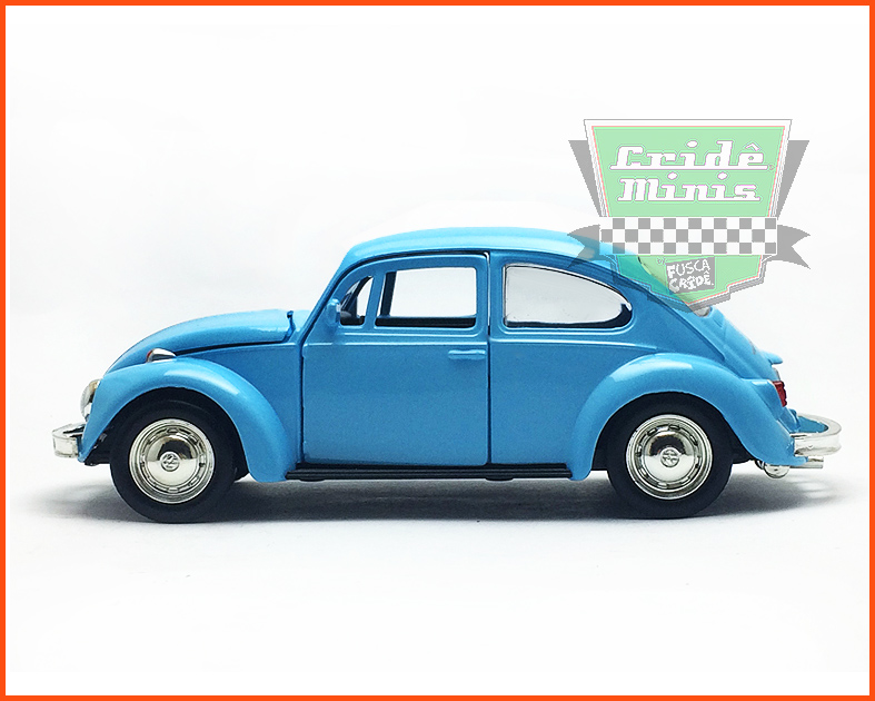 Fusca Sedan  - Azul - escala 1/32