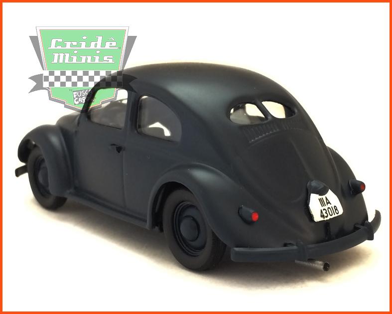 Fusca Sedan Split Window 1939 - Escala 1/43 - Caixa de acrílico