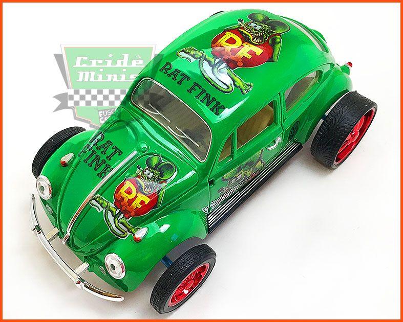 Fusca VW Monster Rat Fink - 8 dias de produção - escala 1/24