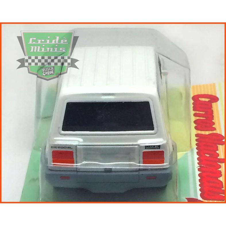 Gurgel BR 800 1989 - Carros Nacionais - Escala 1/43