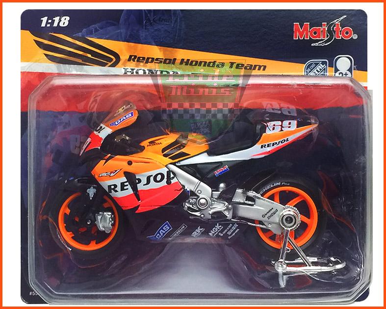 Honda Moto GP 2006 - REPSOL - escala 1/18