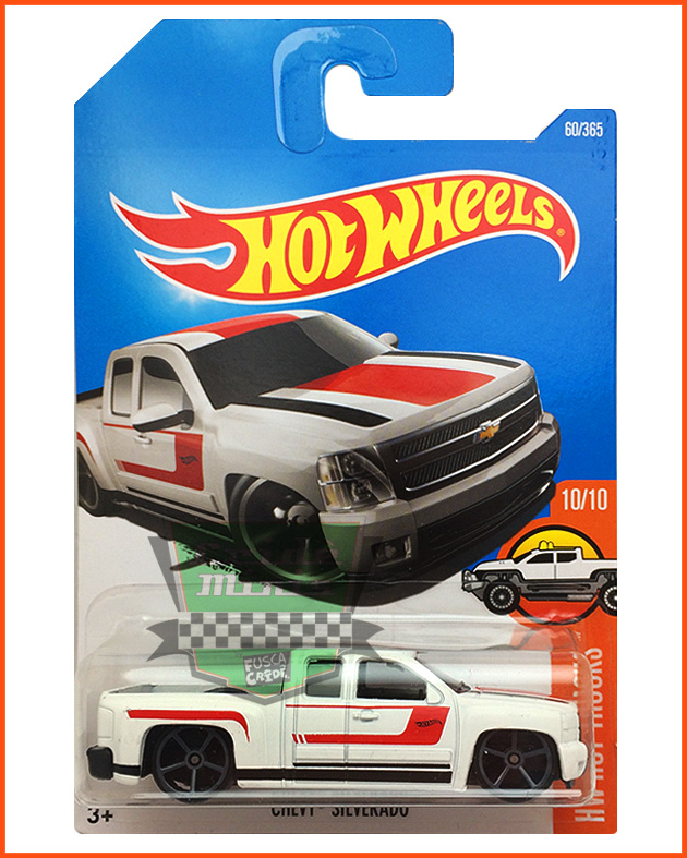 Hot Weels Chevy Silverado - escala 1/64