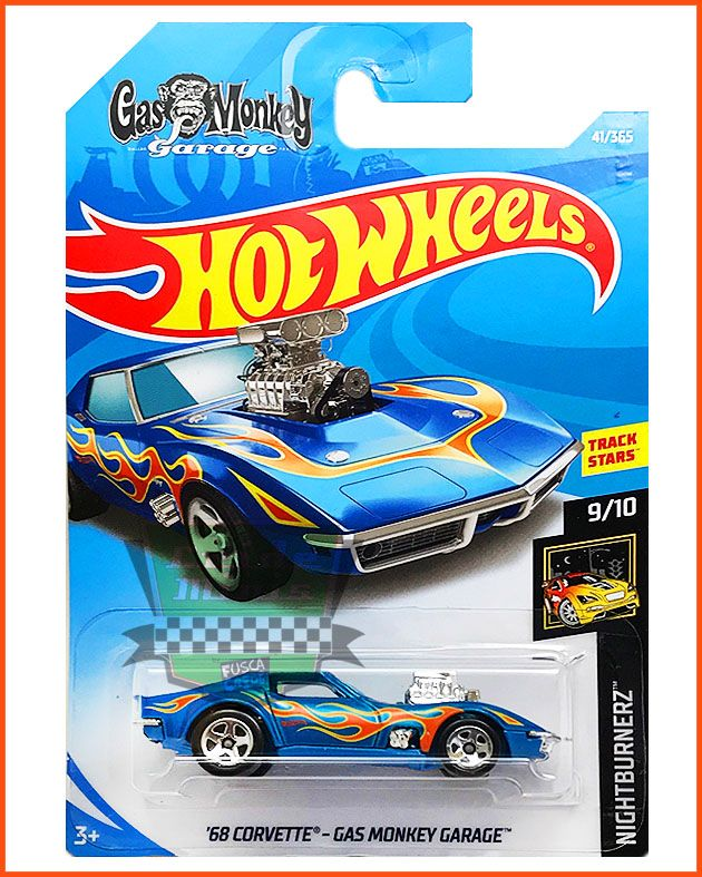 Hot Corvette 68 - Gas Monkey Garage - escala 1/64