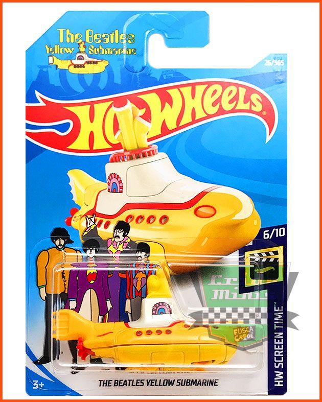 Hot The Beatles Yellow Submarine - escala 1/64
