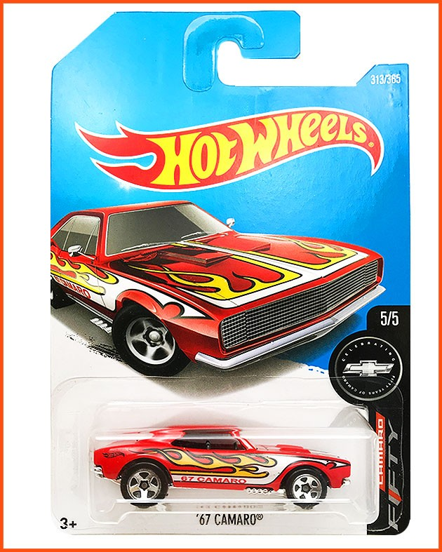 Hot Weels Camaro 67 - escala 1/64