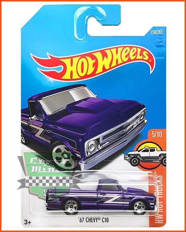 Hot Weels Chevy C10 1967 - escala 1/64