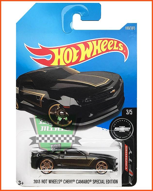 Hot Weels Chevy Camaro 2013 - SPECIAL EDITION escala 1/64