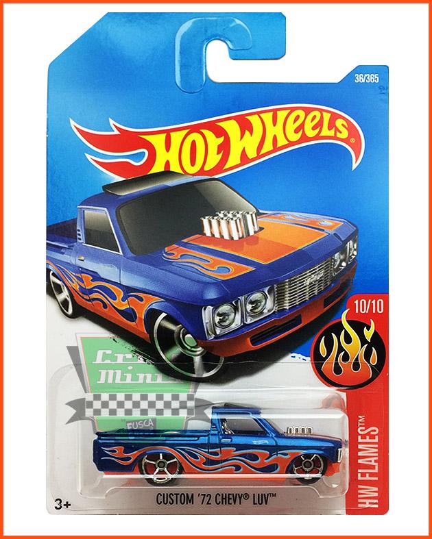 Hot Weels Chevy Custom LUV 72 - escala 1/64