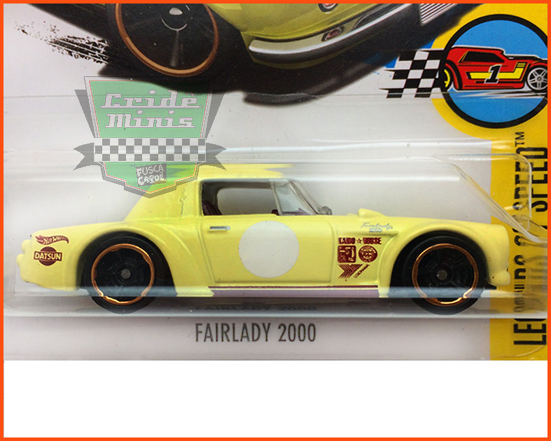 Hot Weels Fairlady 2000 - escala 1/64