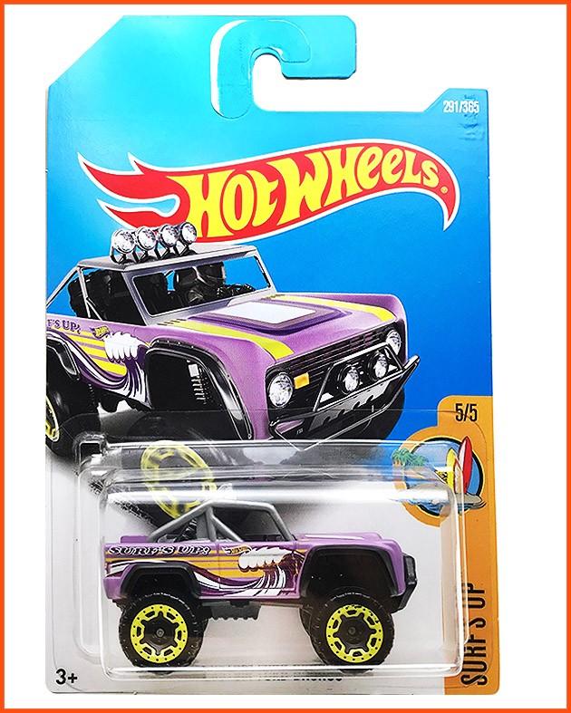 Hot Weels Ford Bronco Custom - escala 1/64