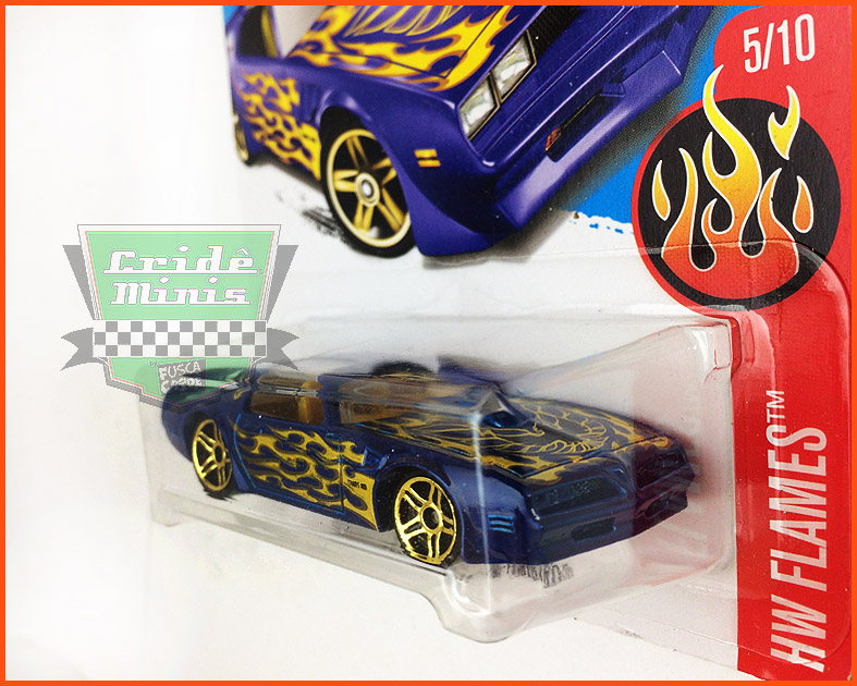 Hot Weels Pontiac Firebird 77 - escala 1/64