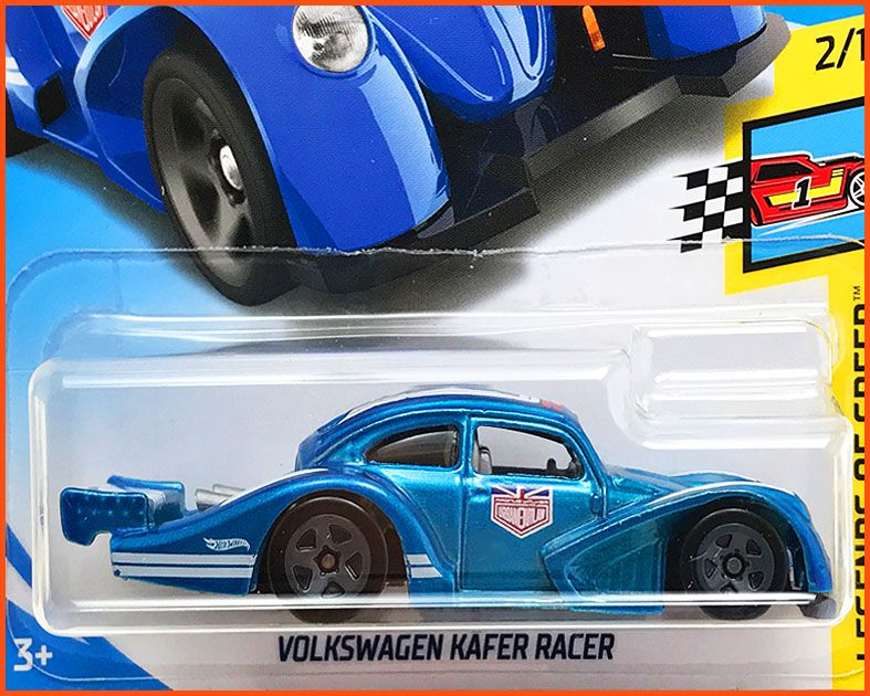 Hot Weels VW Fusca Split Racer - escala 1/64