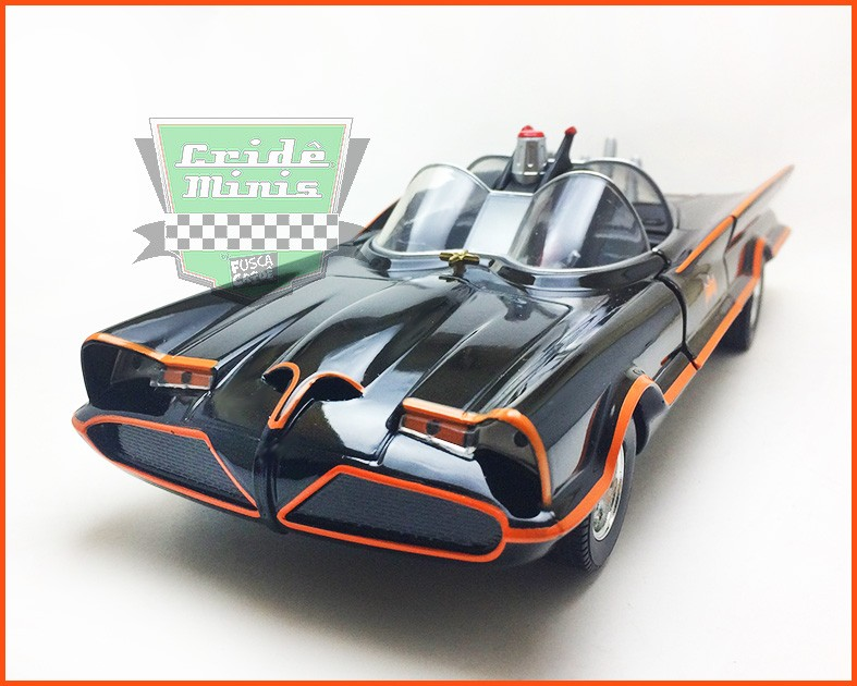 Jada Batman Classic TV Series - Batmovel 1966 - Escala 1/24