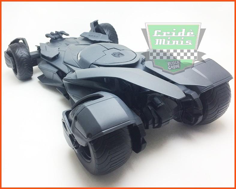 Jada Batmóvel Batman Vs Superman DC Diecast - Escala 1/24