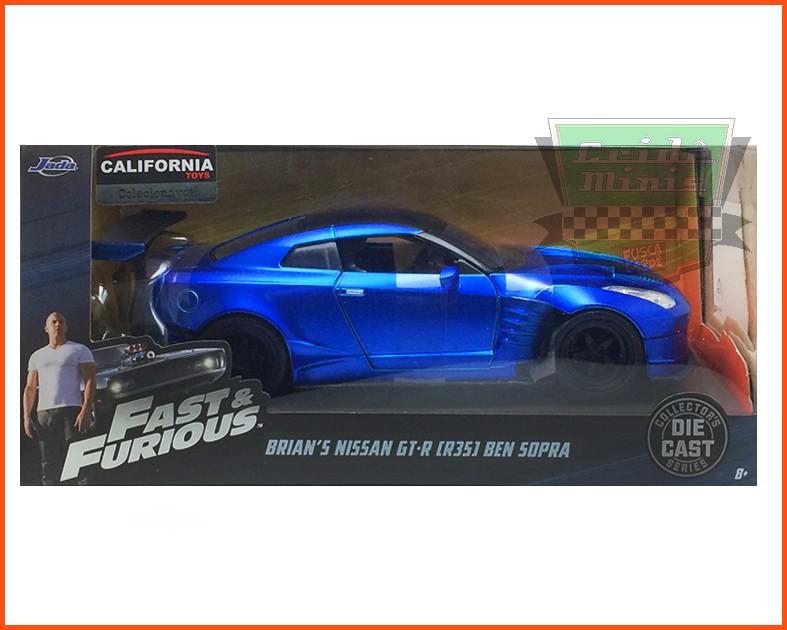 Jada Brian's Nissan GT-R Ben Sopra - Velozes & Furiosos 8 - escala 1/24
