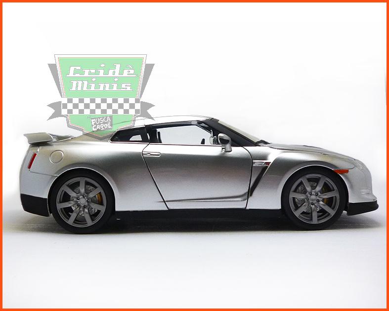 Jada Brian's Nissan GT-R (R35) - Velozes e Furiosos - escala 1/24