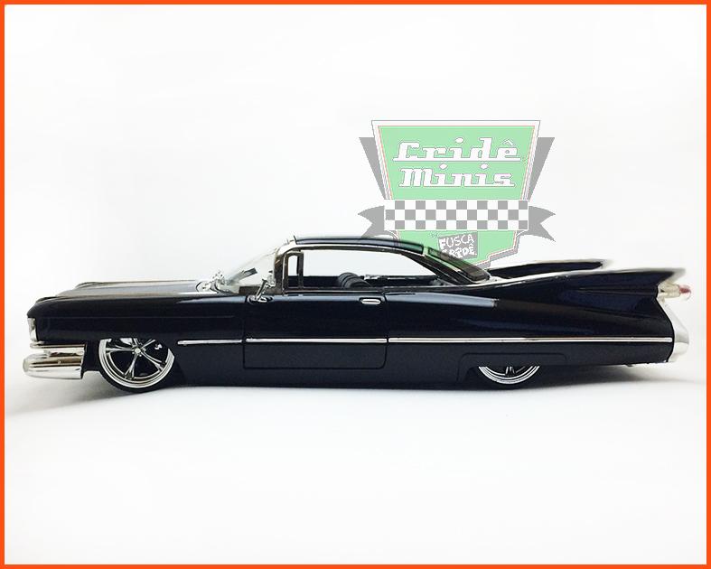 Jada Cadillac Coupe De Ville 1959 - escala 1/24