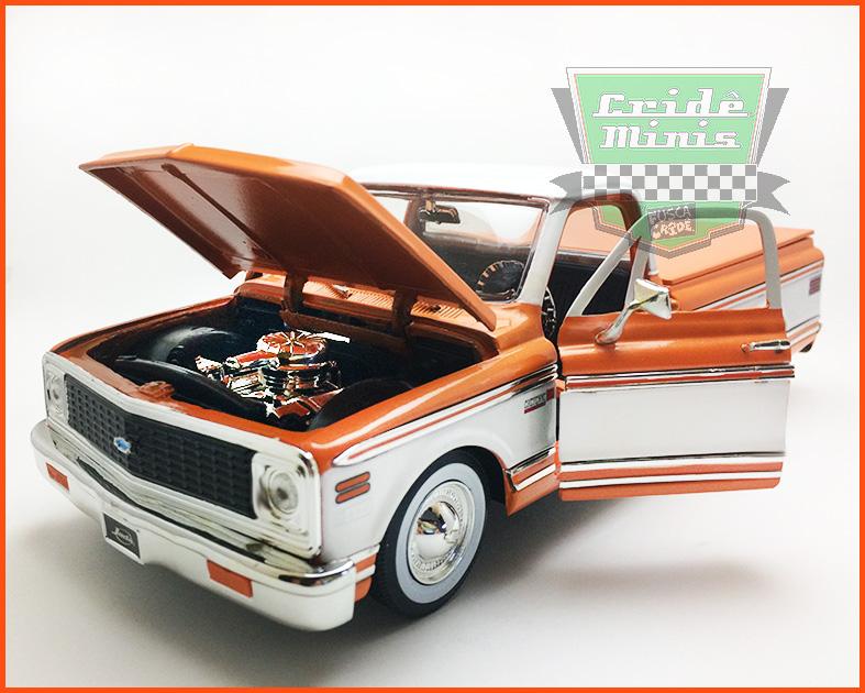 Jada Chevrolet Cheyenne Pick-up 1972  - escala 1/24