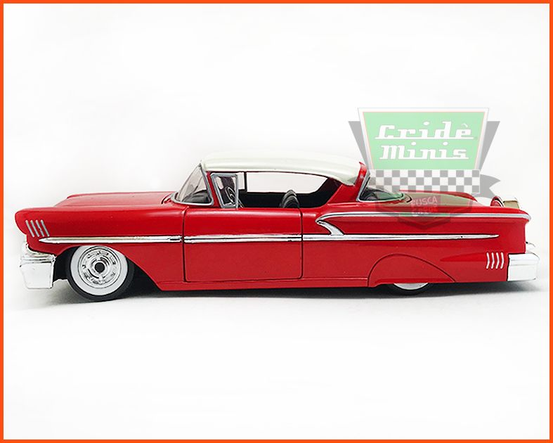Jada Chevrolet Impala 1958 - escala 1/24