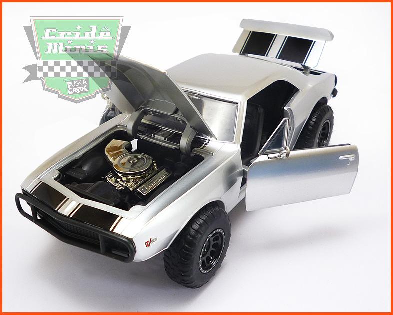 Jada Chevy Camaro 1967 - Velozes e Furiosos - escala 1/24