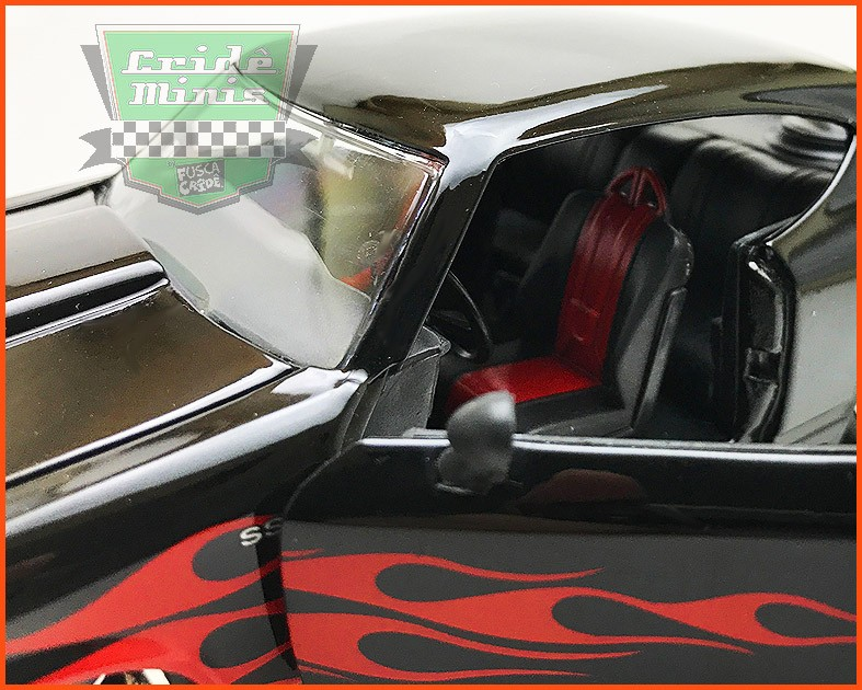 Jada Chevy Chevelle SS 1969 Flames - escala 1/24
