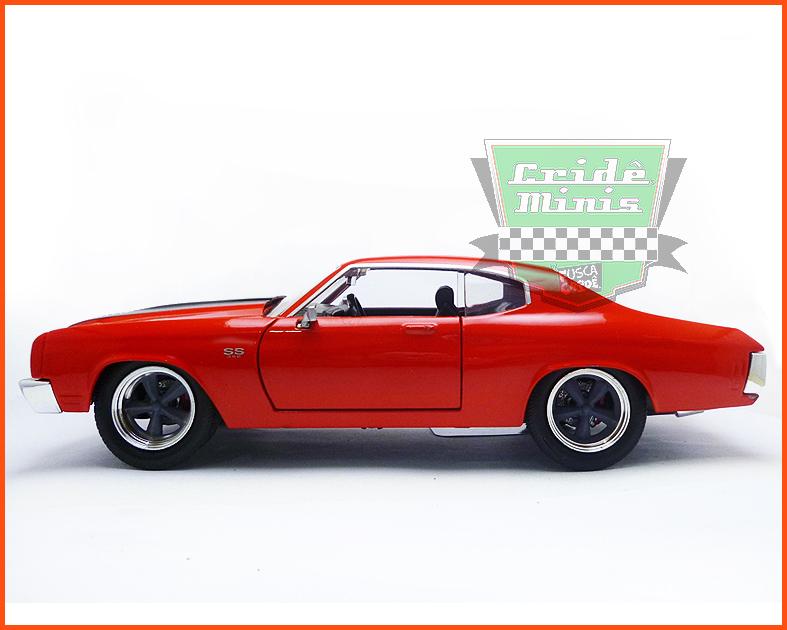 Jada Chevy Chevelle SS 1970 - Velozes & Furiosos - escala 1/24