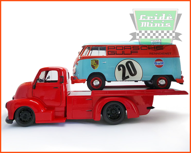 Jada Chevy COE Flatbed 1952 - escala 1/24