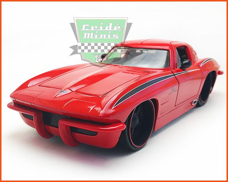 Jada Corvette Sting Ray 1963 - Limited Edition 7.500 - escala 1/24
