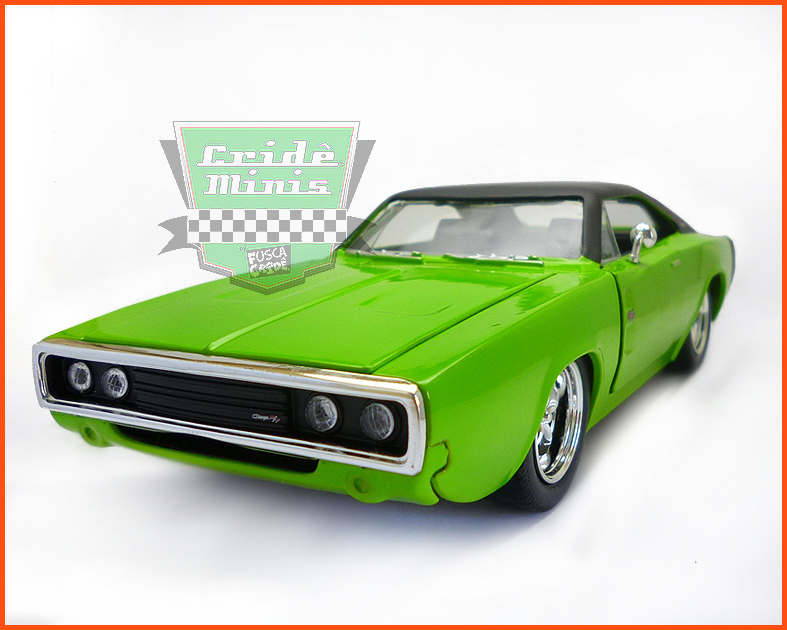 Jada Dodge Charger R/T 1970  - escala 1/24