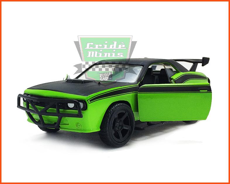 Jada Dodge Charger SRT8 - Velozes e Furiosos 7 - escala 1/32