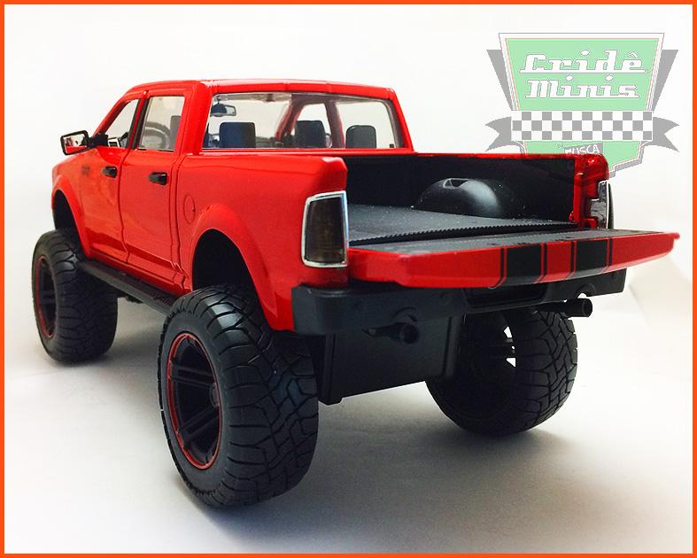 Jada Dodge RAM 2014 Vermelha- escala 1/24
