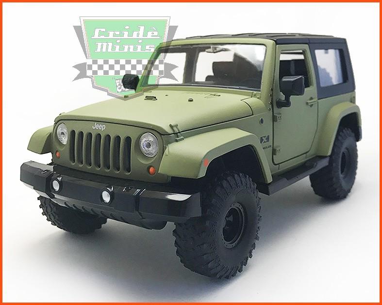 Jada Jeep Wrangler 2007 - escala 1/24