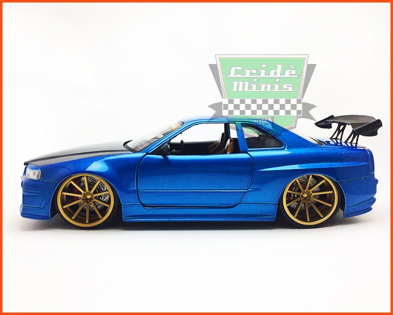 Jada Nissan Skyline GT-R34 - escala 1/24