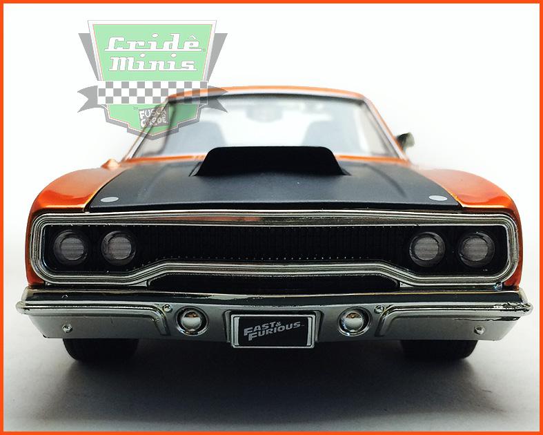 Jada Plymouth Road Runner - Velozes e Furiosos 7 - escala 1/24