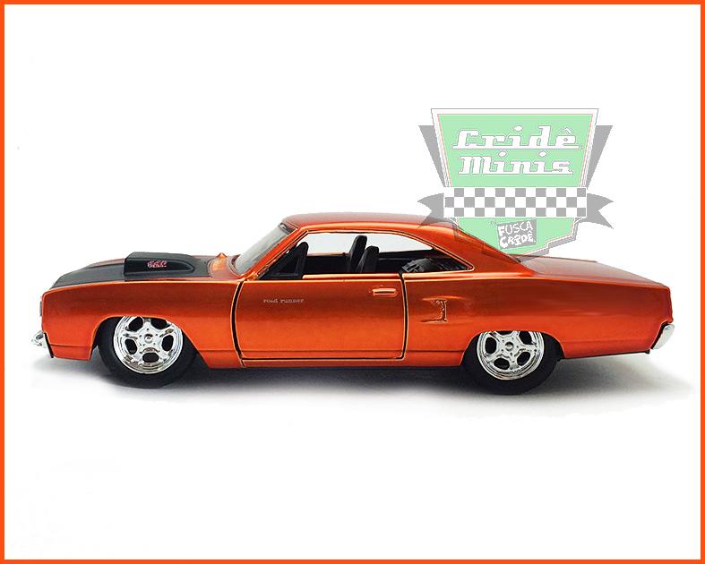 Jada Plymouth Road Runner - Velozes e Furiosos 7 - escala 1/32