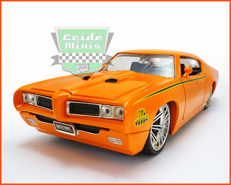 Jada Pontiac GTO Judge 1969 - escala 1/24