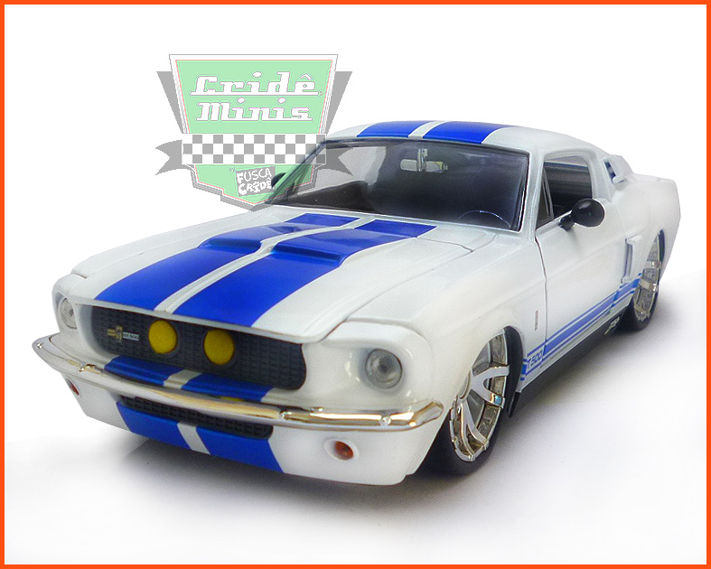Jada Shelby GT 500 1967 - escala 1/24