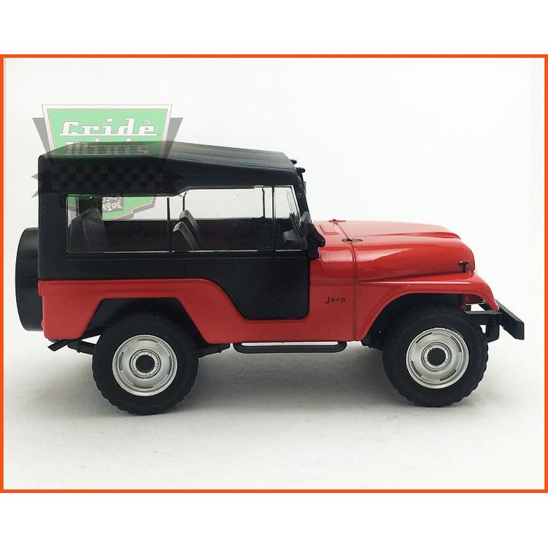 Jeep Willys Cj5 1963 - Carros Nacionais - escala 1/43