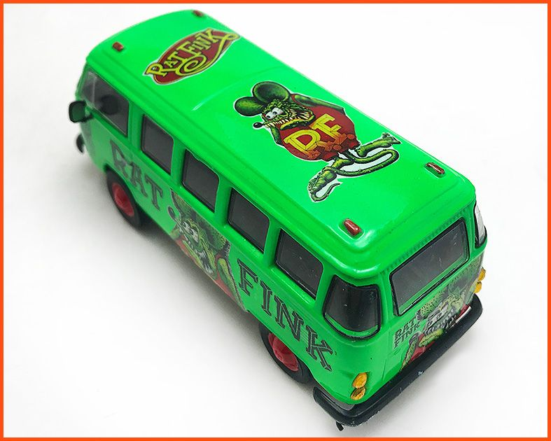 Kombi Rat Fink Customizada - escala 1/43