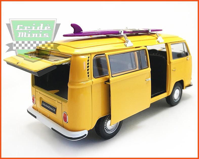 Kombi Surfista Type 2 1972 - escala 1/24