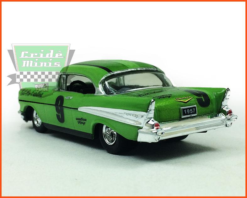 M2 Chevrolet Bel Air 1957 10 dias de produção - escala 1/64