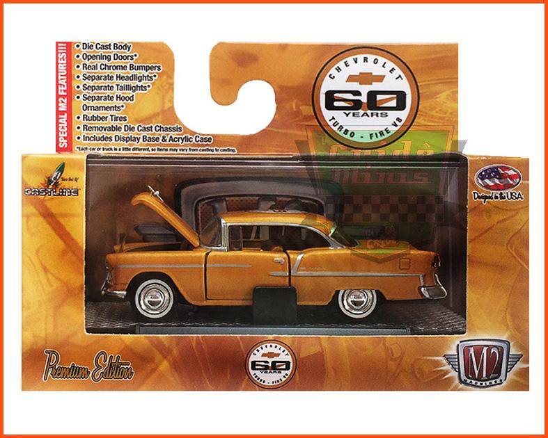 M2 Chevrolet Bel Air 265 1955 - Ed. Premium - escala 1/64