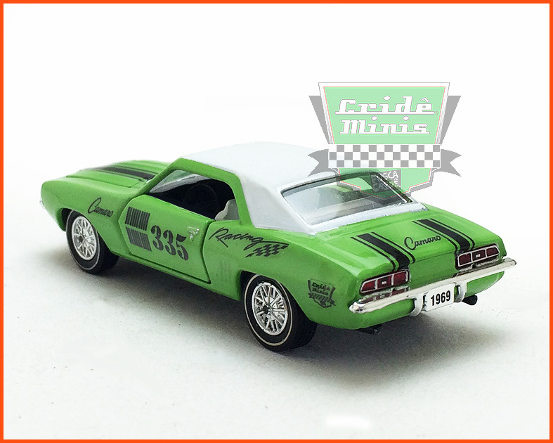 M2 Chevrolet Camaro 250 1969 - Customizado escala 1/64