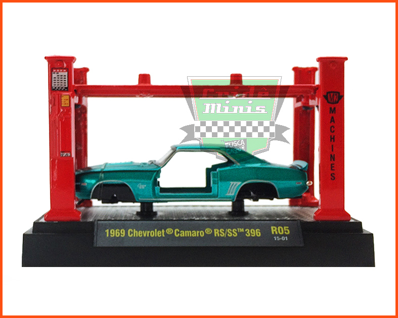 M2 Chevrolet Camaro RS/SS 396 1969 - escala 1/64