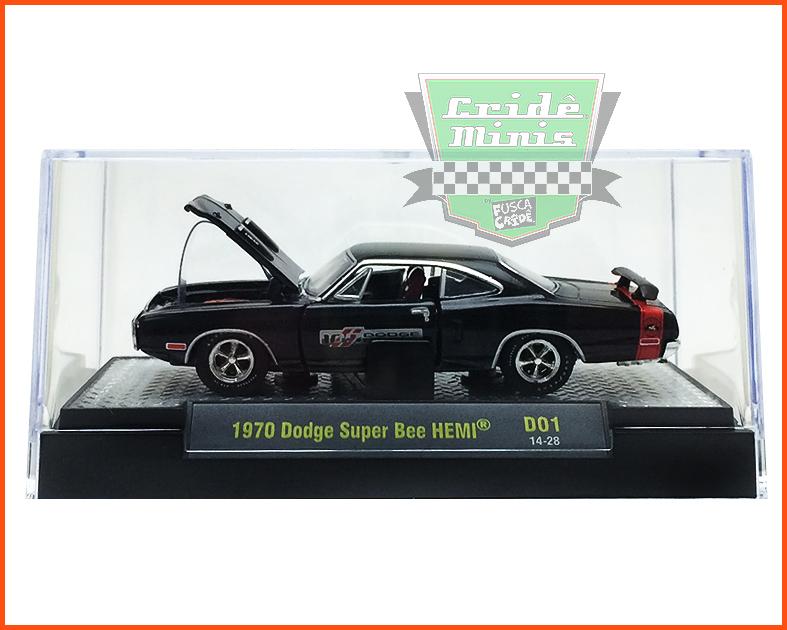 M2 Dodge Super Bee HEMI 1970 100 Anos - escala 1/64