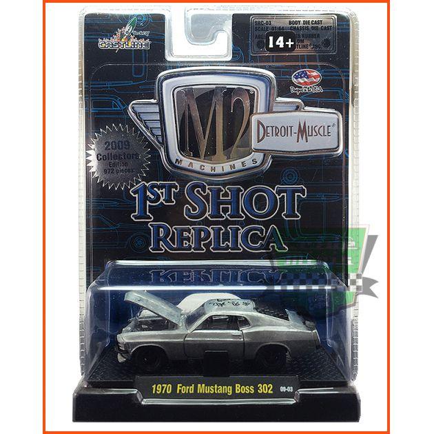 M2 Ford Mustang BOSS 302 1970 - 1st Shot Ed. Lim. 972