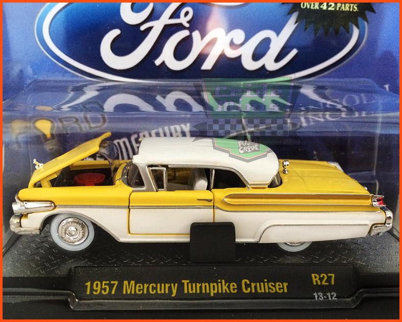 M2 Mercury Turnpike Cruiser 1957 - Edição Premium 5.000 unidades - escala 1/64