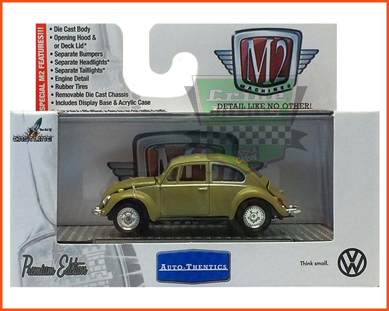 M2 VW Fusca Deluxe USA Model 1967 - escala 1/64