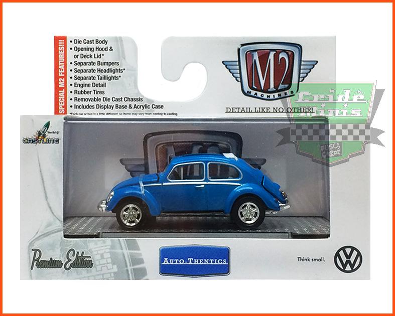 M2 VW Fusca Deluxe USA Model 1953 - escala 1/64